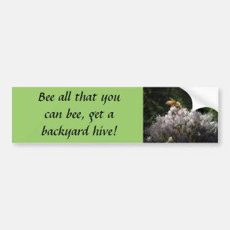 ¡Abeja toda que usted puede abeja, conseguir una c Pegatina Para Auto