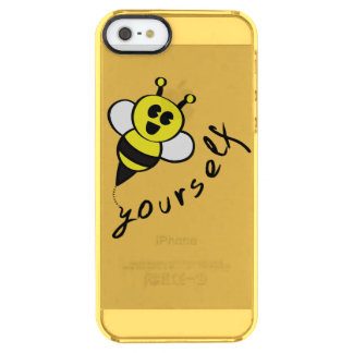 ¡Abeja usted mismo! Funda Clearly™ Deflector Para iPhone 5 De Uncommon