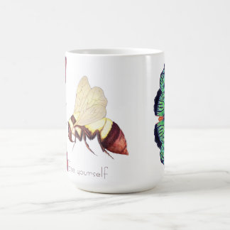 Abeja usted mismo taza de café