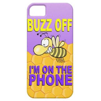 Abeja: Zumbido apagado en el teléfono iPhone 5 Case-Mate Carcasas