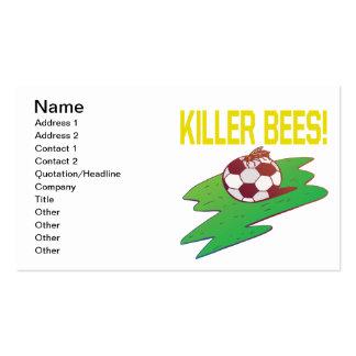 Abejas de asesino tarjetas de visita