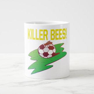 Abejas de asesino taza de café grande