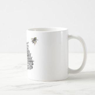 Abejas del vintage tazas de café