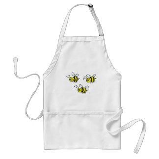 abejas delantal