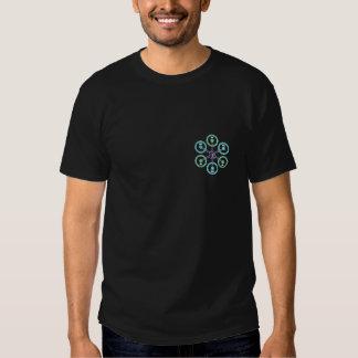 Abejón de DIY Hexa + Negro Camisas