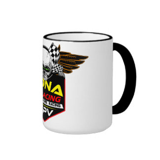 Abejón de Hawaii que compite con la taza de café