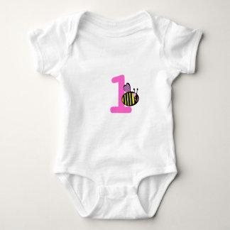 Abejorro de encargo de la edad del bebé del mameluco de bebé