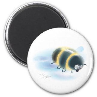 abejorro imán redondo 5 cm