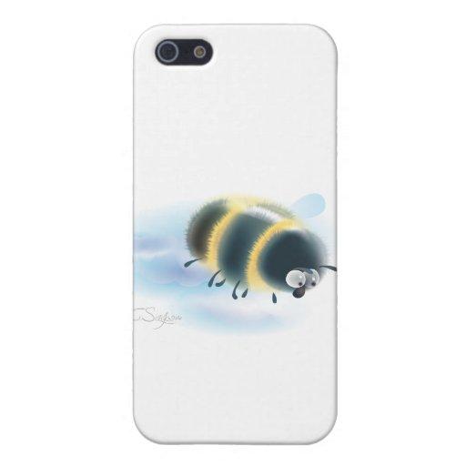 abejorro iPhone 5 fundas