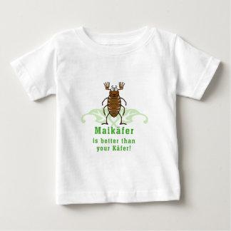 Abejorro is better than your käfer playera para bebé