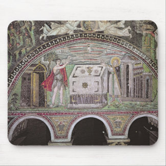 Abel and Melchisedech offering at the Altar Mouse Pad