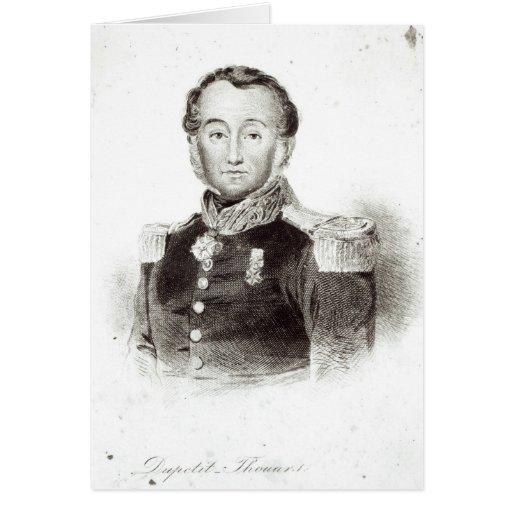 Abel Aubert Dupetit-Thouars Tarjeta De Felicitación