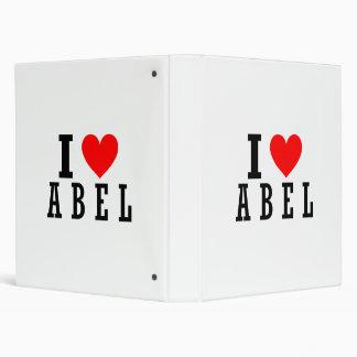 """Abel, diseño de Alabama Carpeta 1"""""""