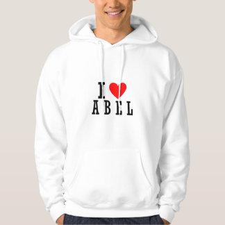 Abel, diseño de Alabama Jersey Con Capucha