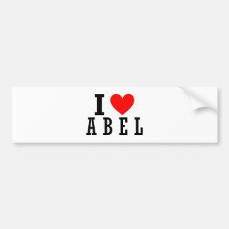 Abel, diseño de Alabama Pegatina Para Auto