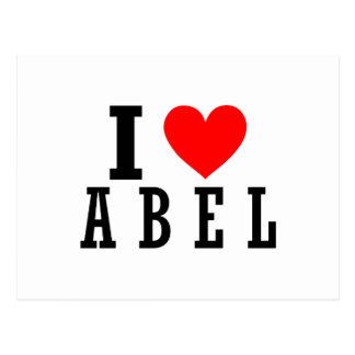 Abel, diseño de Alabama Postal