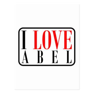 Abel, diseño de Alabama Postales