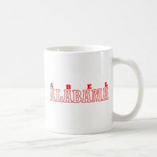 Abel, diseño de la ciudad de Alabama Taza Clásica