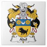 Abel Family Crest Tile
