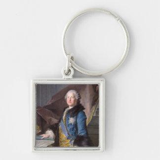 Abel Francois Poisson  Marquis de Marigny, 1755 Keychain