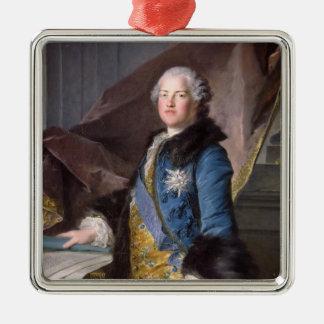 Abel Francois Poisson  Marquis de Marigny, 1755 Square Metal Christmas Ornament
