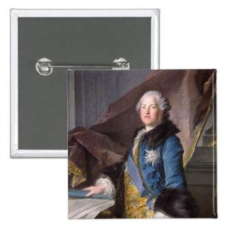 Abel Francois Poisson  Marquis de Marigny, 1755 Pinback Button