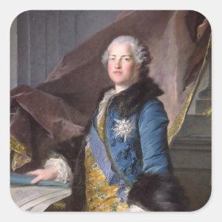 Abel Francois Poisson  Marquis de Marigny, 1755 Square Sticker