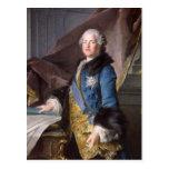 Abel Francois Poisson Marquis de Marigny, 1755 Tarjetas Postales
