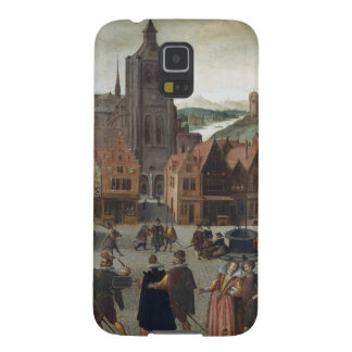 Abel Grimmer The Marketplace in Bergen op Zoom pro Galaxy S5 Cover