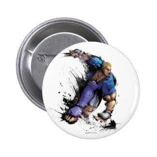 Abel Landing Pinback Button
