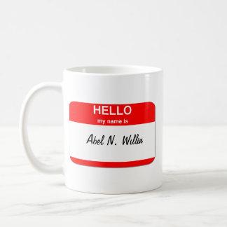Abel N. Willin (capaz y el querer) Taza Clásica