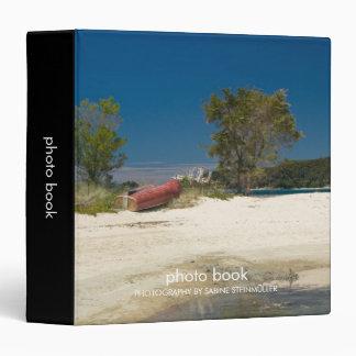 Abel Tasman Beach & Red Boat Photo Book Binder
