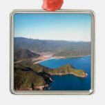 Abel Tasman National Park coastal paradise Christmas Tree Ornaments