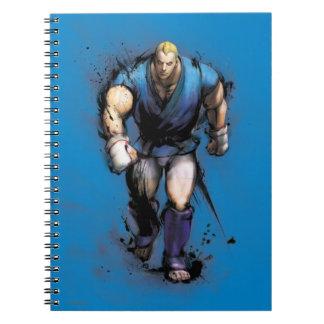Abel Walking Spiral Notebook