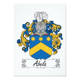 Abela Family Crest Card