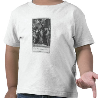 Abelard Heloise que da la bienvenida en Paraclete Camiseta