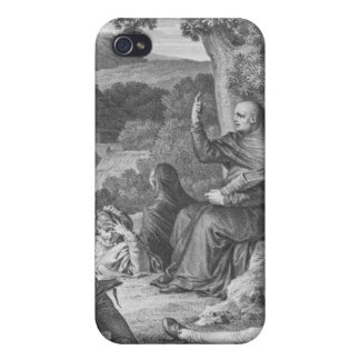 Abelard lecturing in the deserted Champagne iPhone 4/4S Cover