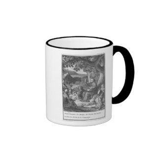 Abelard lecturing in the deserted Champagne Mugs