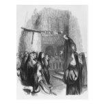 Abelard preaching at Paraclete Postcard