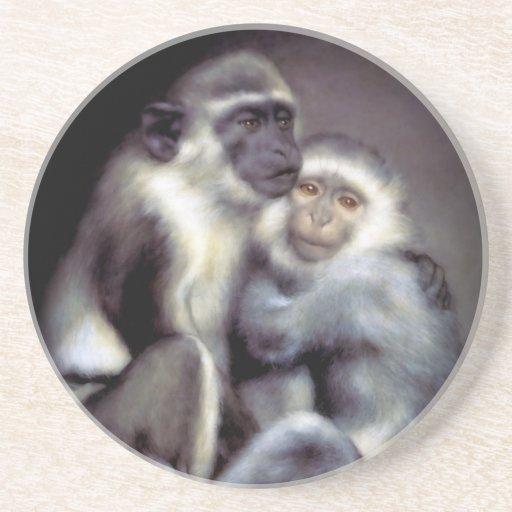 Abelard y Heloise Posavasos Personalizados