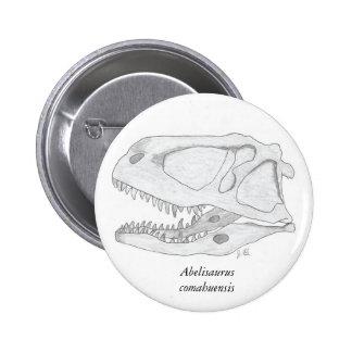 Abelisaurus comahuensis skull button