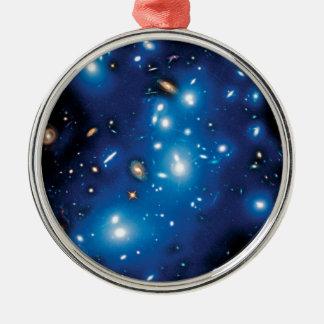Abell 2744 Pandora Galaxy Cluster Metal Ornament