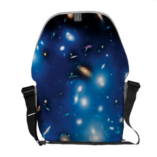Abell 2744 Pandora Galaxy Cluster Space Photo Courier Bag