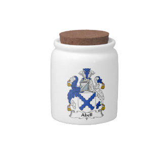 Abell Family Coat of Arms & Family Crests Candy Dish