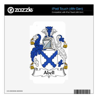 Abell Family Coat of Arms & Family Crests iPod Touch 4G Skin