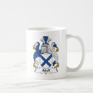 Abell Family Crest Coffee Mugs