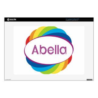 """Abella 15"""" Laptop Decal"""