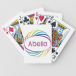 Abella Bicycle Playing Cards
