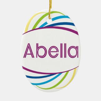 Abella Ceramic Ornament