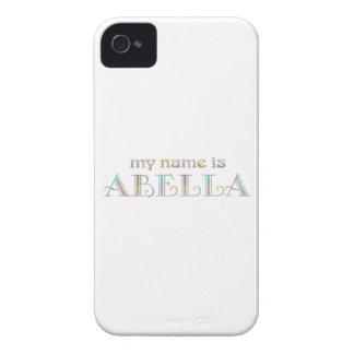 Abella iPhone 4 Cárcasa